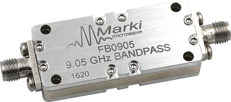 FB-0905 Microwave Connectorized Band Pass Filter image