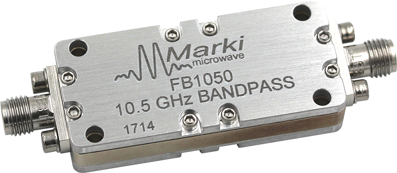 FB-1050 Microwave Connectorized Band Pass Filter image