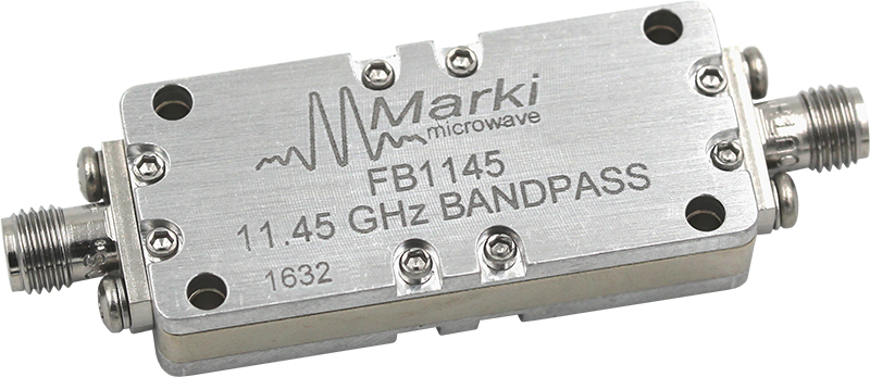 FB-1145 Microwave Connectorized Band Pass Filter image