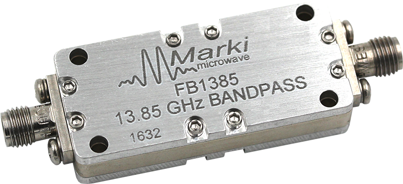FB-1390 Microwave Connectorized Band Pass Filter image