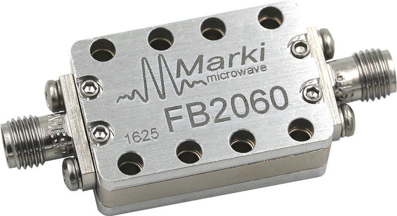 FB-2060 Microwave Connectorized Band Pass Filter image