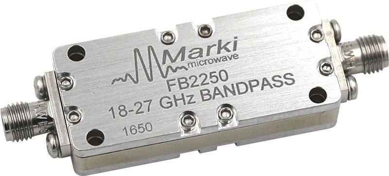 FB-1575 Microwave Connectorized Band Pass Filter image