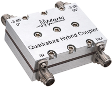 QH-0516 3 dB Quadrature (90 degree) Hybrid Coupler image