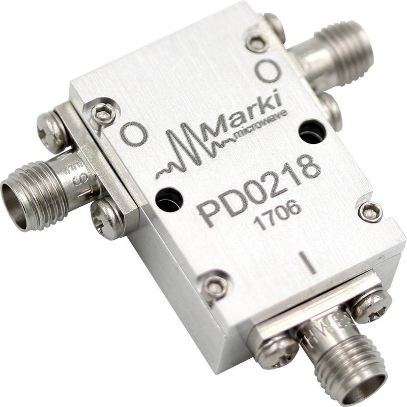 PD-0218 2-Way Wilkinson Microwave/RF Power Divider / Combiner image