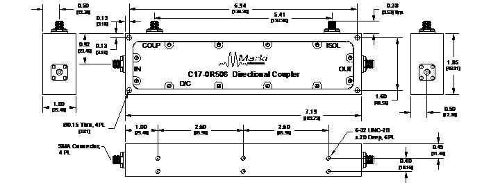 C17-0R506 Coupler Package Diagram