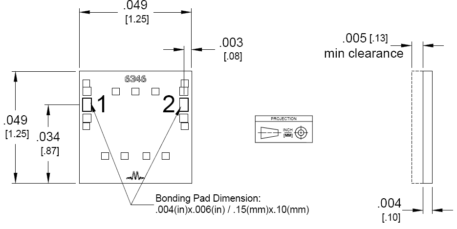 MFB-3450 Filter Package Diagram