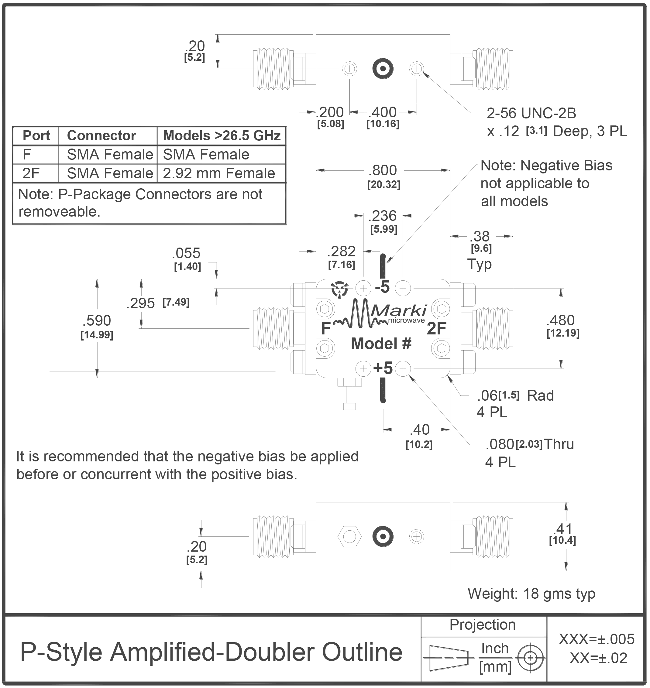 AD-1020 Multiplier Package Diagram